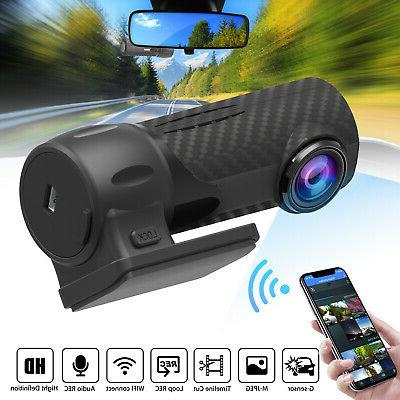 360° 1080P HD Hidden Car Camera WIFI DVR Dash Cam Recorder
