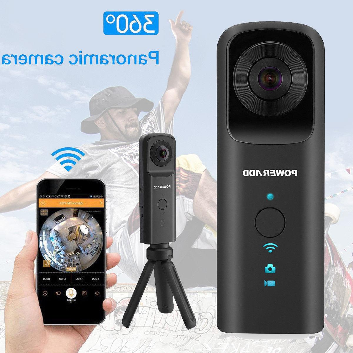 360 VR Camera Handheld Video Panoramic Camera WiFi HD Wide A