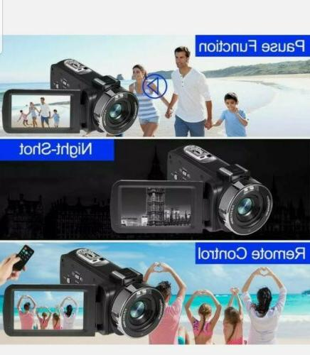 4k Camcorder LED 3.0 Touch