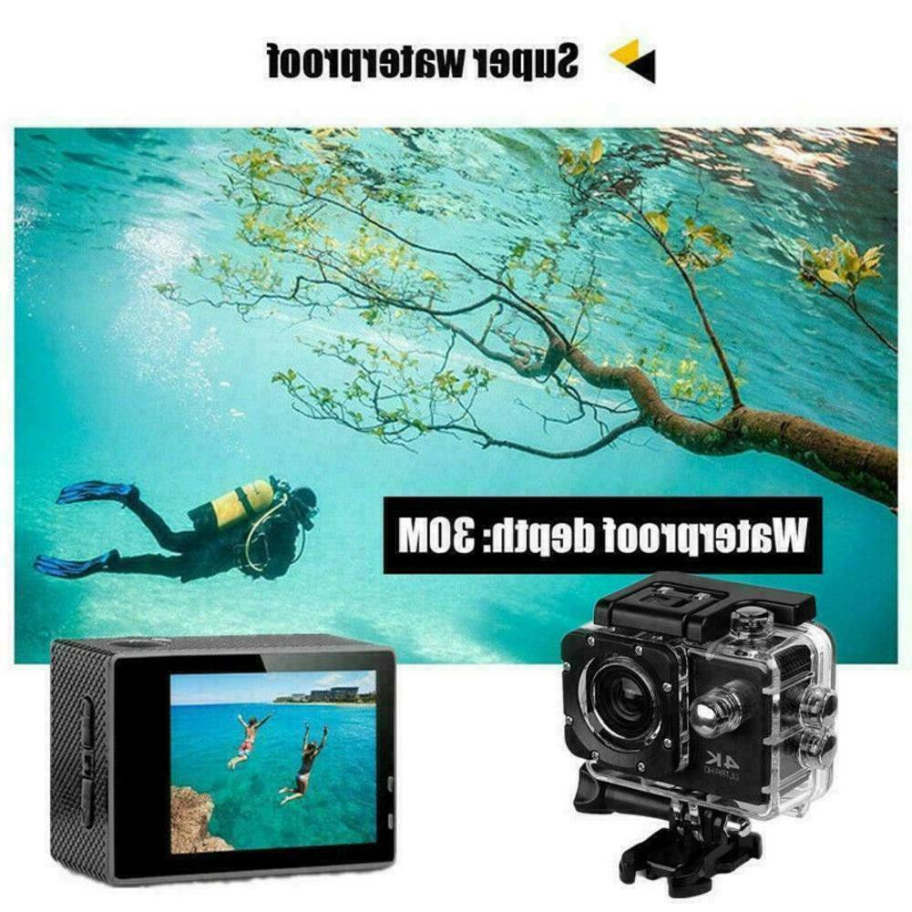 4K Mini Full Action Camera Camcorder Waterproof Outdoor Gopro K5M9