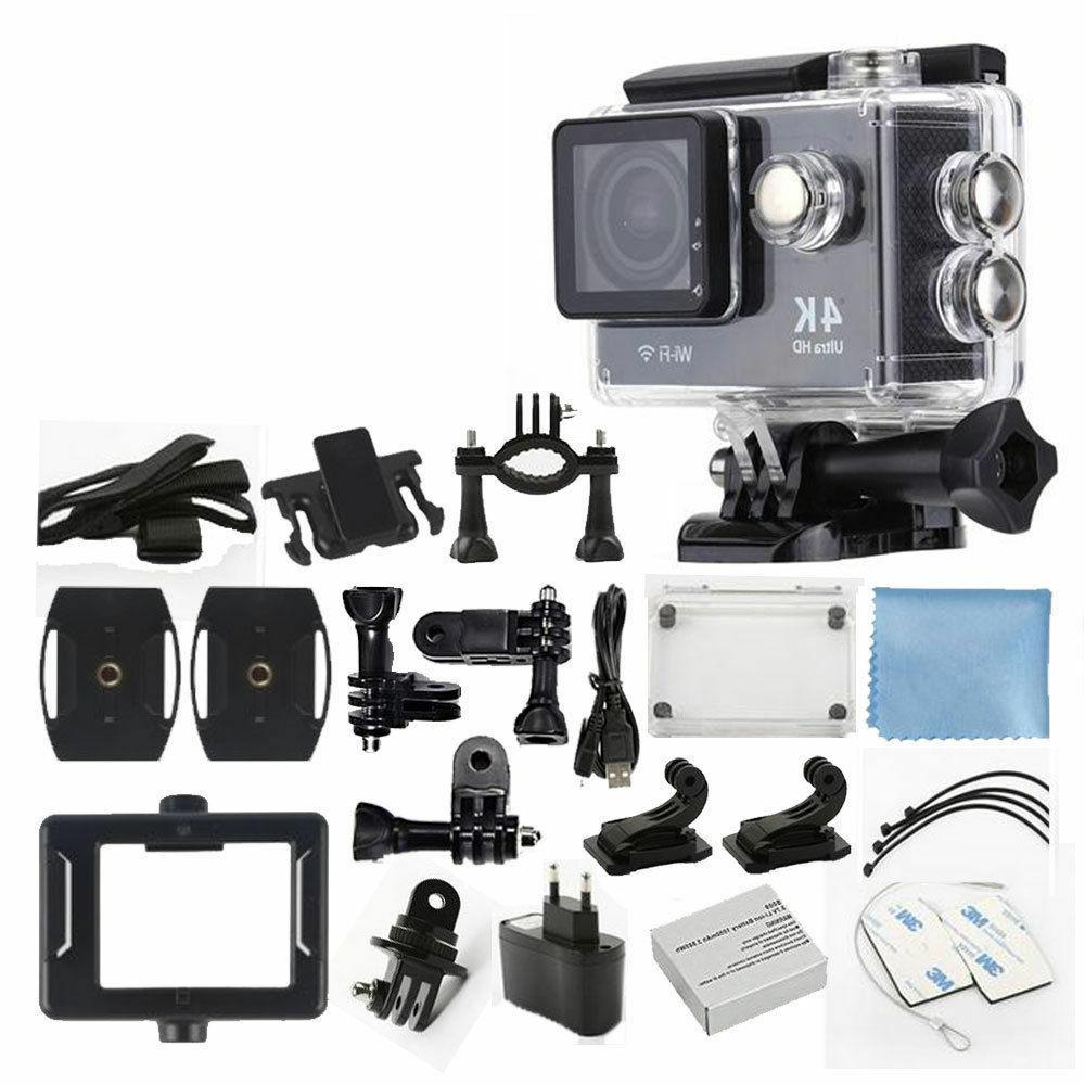 4K HD DV 16MP 1080p 60fps Action Camera + Accessory