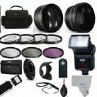 52MM PRO KIT HD ALL YOU NEED /7 LENS/FLASH/BAG/+ MORE Kit fo