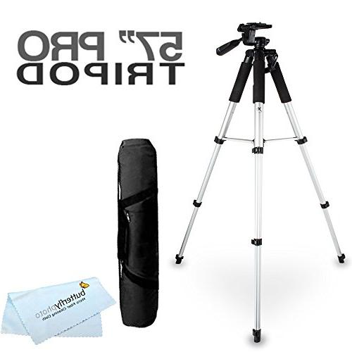 Butterfly 57 Camcorder Tripod w/Carrying Case Canon VIXIA HF