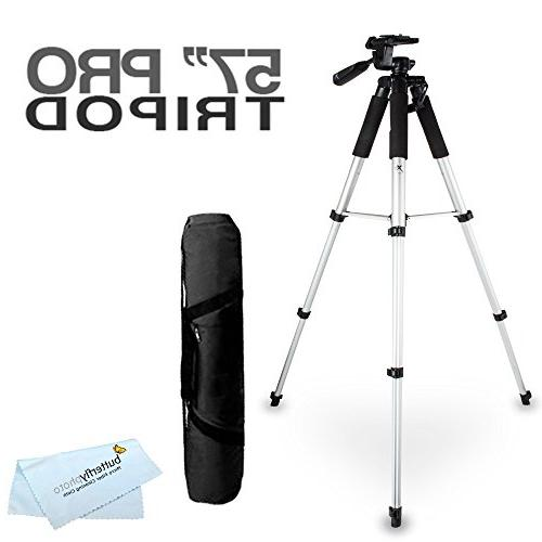 57 camcorder tripod w carrying