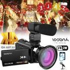 "Andoer 4K WiFi Ultra HD 1080P 48MP 16X ZOOM 3"" Digital Video"