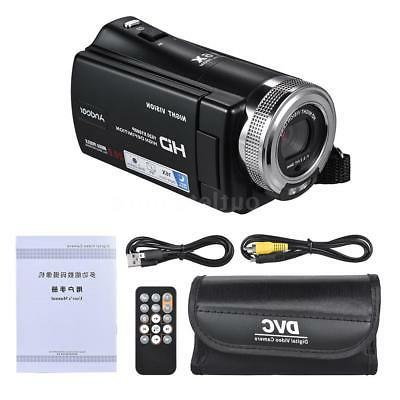 Andoer V12 1080P HD Recording Video Camera Camcorder