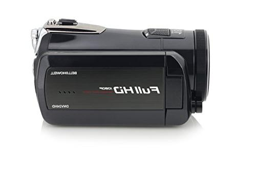 """Bell+Howell DNV24HD-BK Night Vision Camcorder 3"""" Touchscreen Black"""