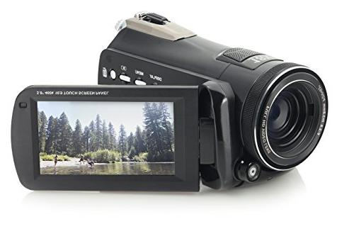 """Camcorder 3"""" Touchscreen LCD Black"""