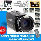 "Camera Camcorder Full HD 1080P 24MP 16X Digital Zoom 3.0"" LC"