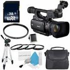 Canon XF105 HD Professional Camcorder  + 58mm Macro Clo