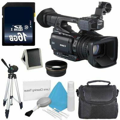 Canon XF200 HD Camcorder  + 58mm Wide Angle Lenses 6AVE