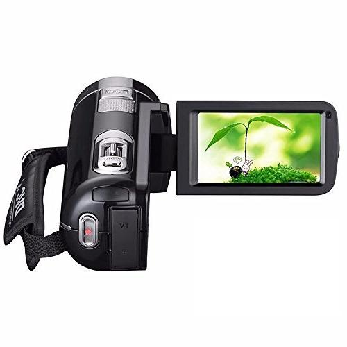 "KINGEAR HDV-301 1080P 2.7"" LCD Screen Digital with Digital Zoom 270°Rotation"