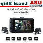 Motorcycle DV168 2CH HD Biker Dash Cam Video DVR Dual Camera