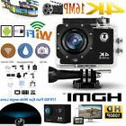 New 1080P HD Sports WiFi Action Camera Black Action Camcorde
