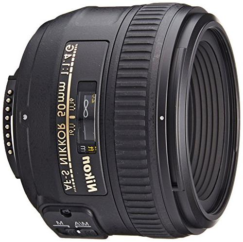 Nikon AF-S FX NIKKOR 50mm f/1.4G Lens with Auto Focus for Ni