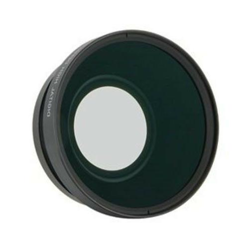 PRO Wide Angle HD 62mm Lens / MACRO 0.43x Converter For Came