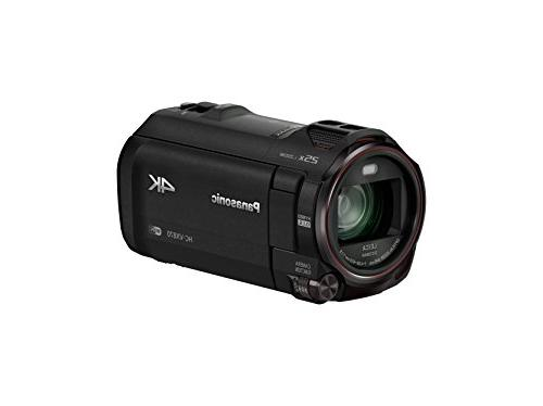 Panasonic - Hc-vx870k 4k Ultra Hd Flash Memory Camcorder - B