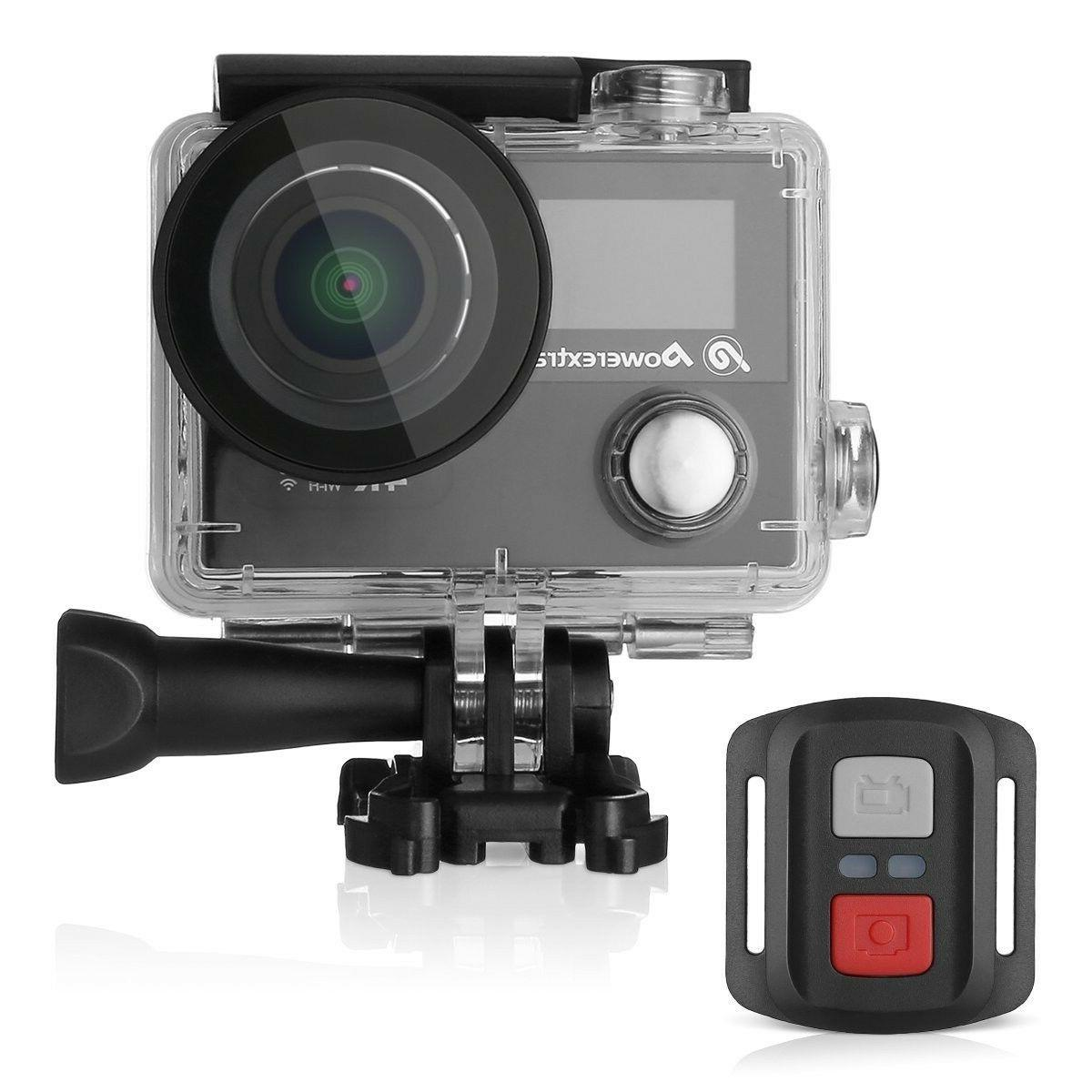 Powerextra 4K Action Camera 12MP Ultra HD Waterproof Sports