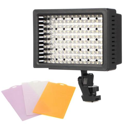 Pro HD-160-LED Lamp for Nikon Pentax DSLR Camera Camcorder