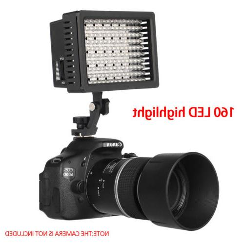 Pro HD-160-LED Light Camcorder