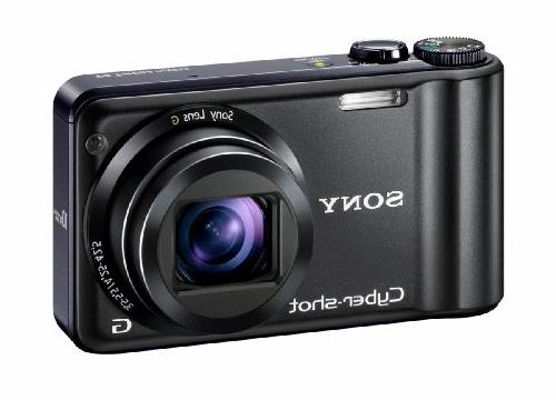 Sony Cyber-shot DSC-H55 14.1MP Digital Camera 10x Wide Optical with and inch