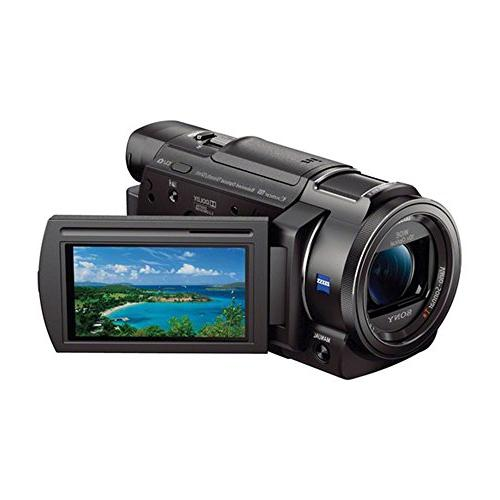 Sony FDRAX33 FDR-AX33 AX33 Recording Camcorder With 2 Spare Tripod, Charger & More