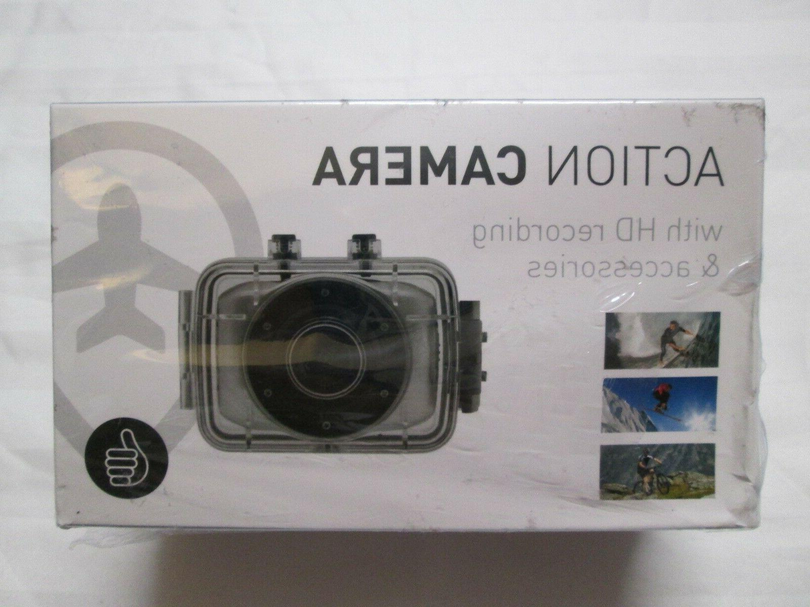 THUMBS UP Action Camera With HD Recording & Accessories