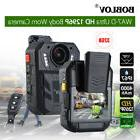 Ultra HD 1296P 170° Camcorder Dash Cam Police Officer Body
