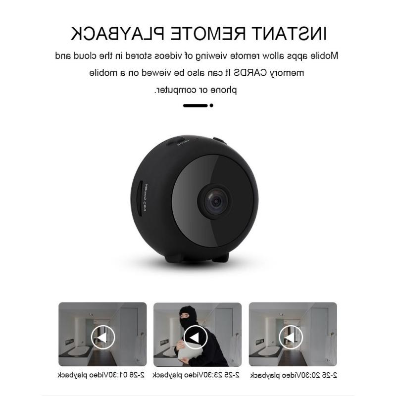 A11 Cloud Storage WiFi Camera 1080P <font><b>Camcorder</b></font> Night Monitoring and Control 150 Degree Wide-angle