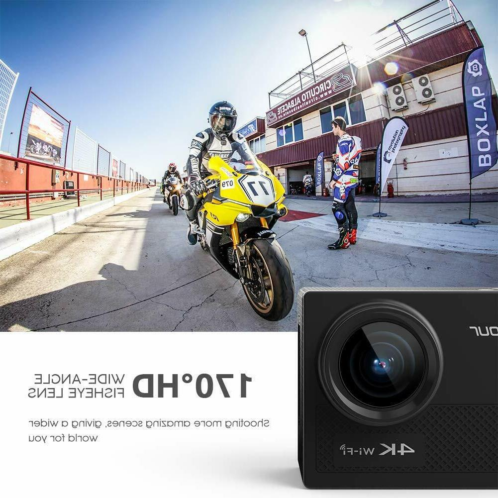Crosstour Action Camera Hd 1080P Video Cam WiFi 12MP