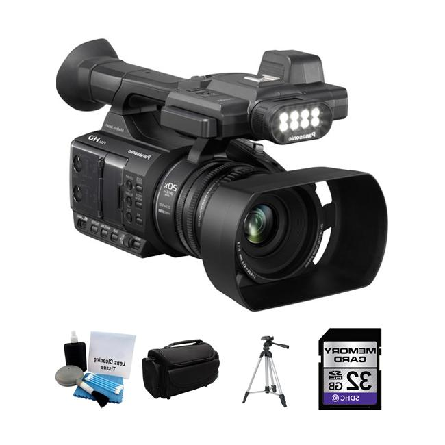 Panasonic AG-AC30 Camcorder Package