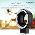 Auto Focus AF Camera Lens Adapter Ring for Canon EF EF-S to