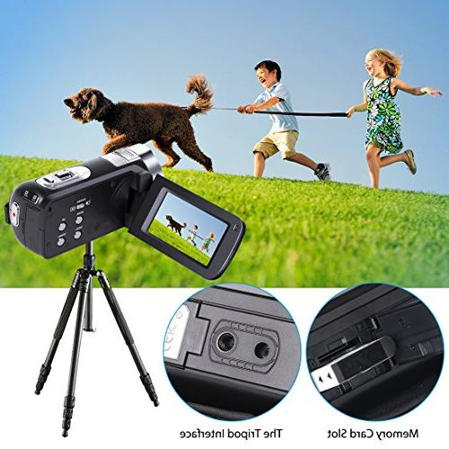 Camera Camcorder, Recorder 16X Digital Zoom 2.7 Inch