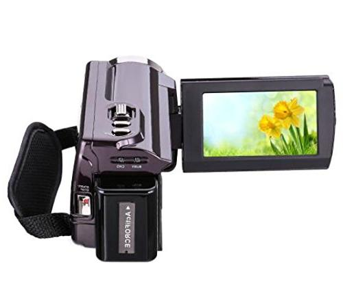 Camcorder HDV-5053 24MP 1080P Inch Screen Video Camera