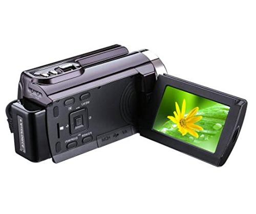 Camcorder Wifi,KINGEAR 24MP HD 1080P Video Recording