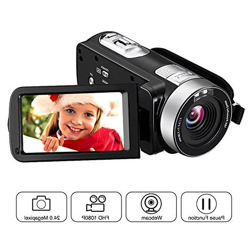 camcorder webcam 2 7 rotatable