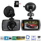 "1080P 2.7"" HD LCD Car Dash Camera Video DVR Cam Recorder Nig"