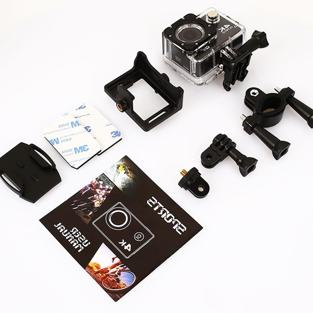 Clearance Action Sport HD LTPS <font><b>Camcorder</b></font> With Accessories