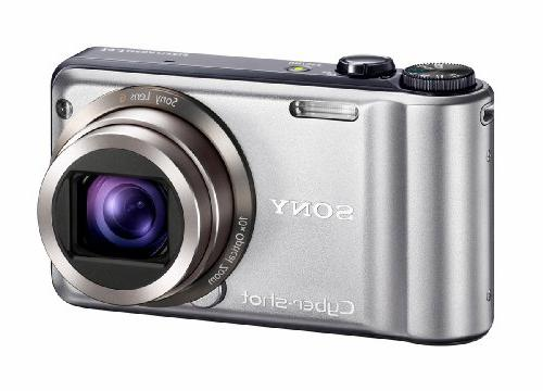 Sony Cyber-shot DSC-H55 14.1MP Digital with 10x Wide Angle Zoom with SteadyShot and 3.0