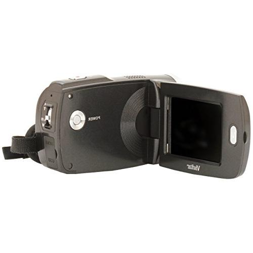 Vivitar DVR949-BLACK Full HD Camcorder Camera with 2.7-Inch Screen