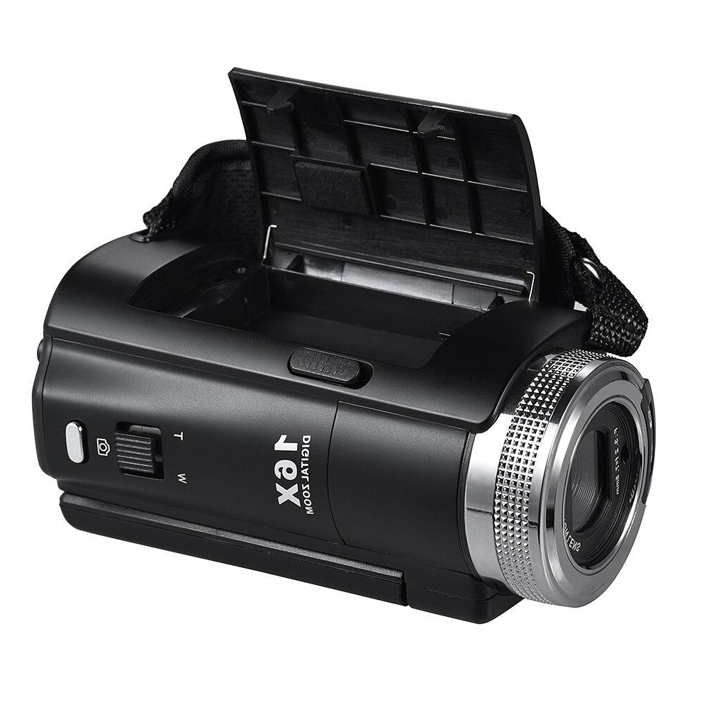 Full <font><b>HD</b></font> 16X Zoom Recording Portable with 3.0 Inch Rotatable Screen