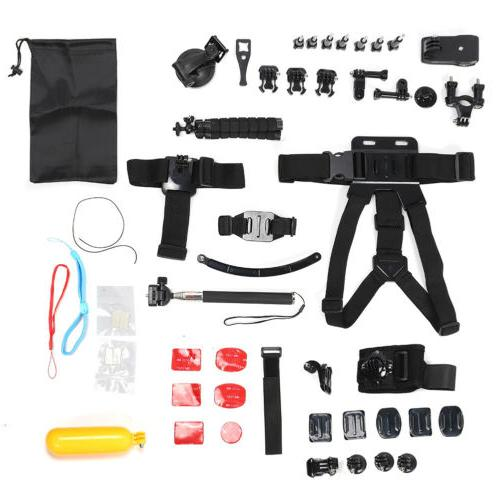 ACCESSORIES For GOPRO 7 6 5 Outdoor Action Sports Camera Mount Set 50in1