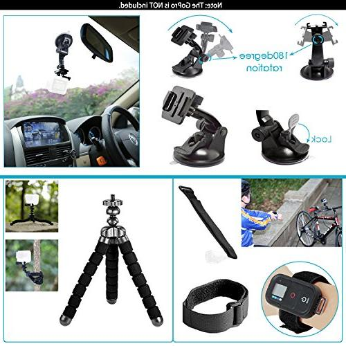 Neewer G1 4K Includes 12MP, 98 Underwater Waterproof Degree Wide Angle Sports with Camera Accessory Kit