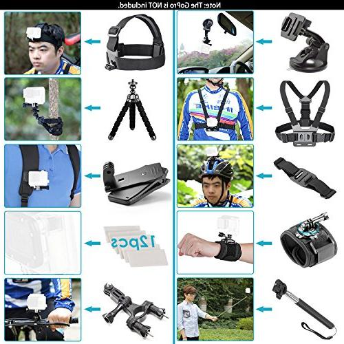 Neewer G1 HD 4K Action Camera Kit Includes Underwater Camera Degree Wide Angle WiFi Sports High-tech with 50-in-1 Action Accessory Kit