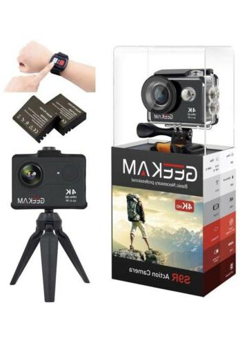 geekam sports and action video cameras 4k