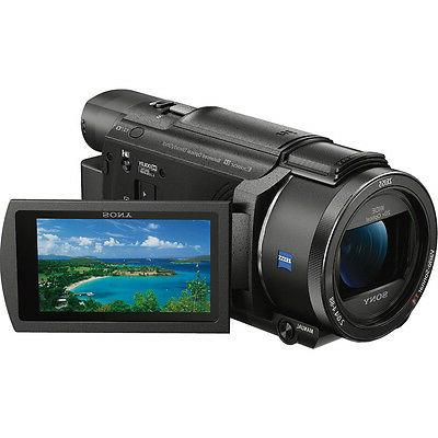 Sony FDR-AX53 Digital Camcorder - Touchscreen - R - - 8.3 Video AVC, - 20x 250x Digital Optical - USB Memory