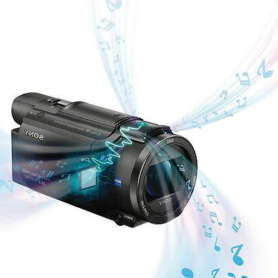 Sony Handycam Camcorder - Touchscreen R CMOS - Black - - 8.3 Video - XAVC S, AVC, - 20x 250x Optical - HDMI USB - Memory