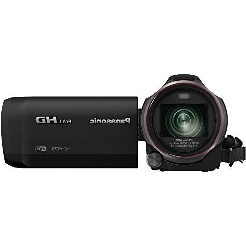 Recording HD Video Camera 64GB + + Backpack + Filters Light Stabilizer