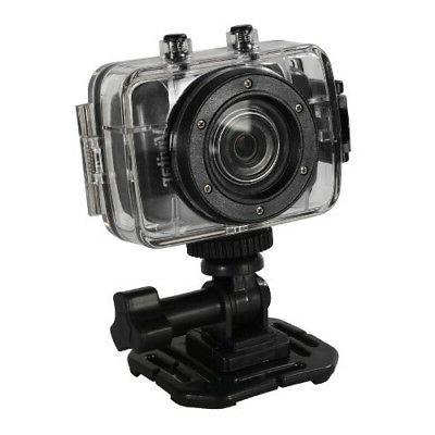 Vivitar HD Action Cam Camcorder with 2-Inch LCD - Black