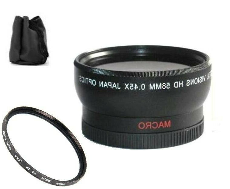 hd wide angle lens for canon hf